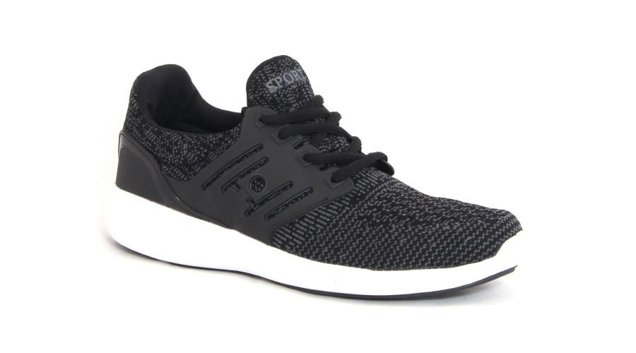 Booz Active Lace-Up's - Black/Grey