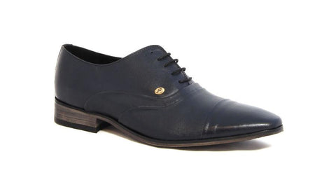 Men's Shoes - John Drake Lace Up Formals - Navy