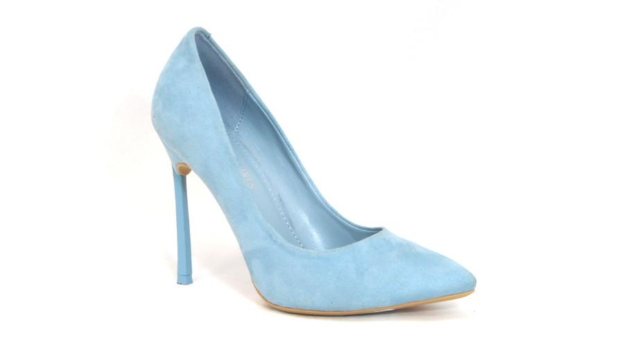 Spoilt Girls  Fashion Heel - Light Blue