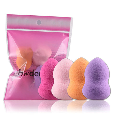 Foundation Sponge Blender Gourde Shape - 4 pack