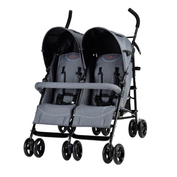 Multi Position Buggy, Front Bar, Shade, 5 Point Safety Harness