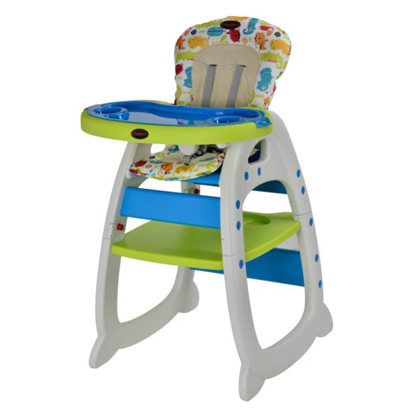 Chelino Angel 2 In 1 High Chair Blue Green