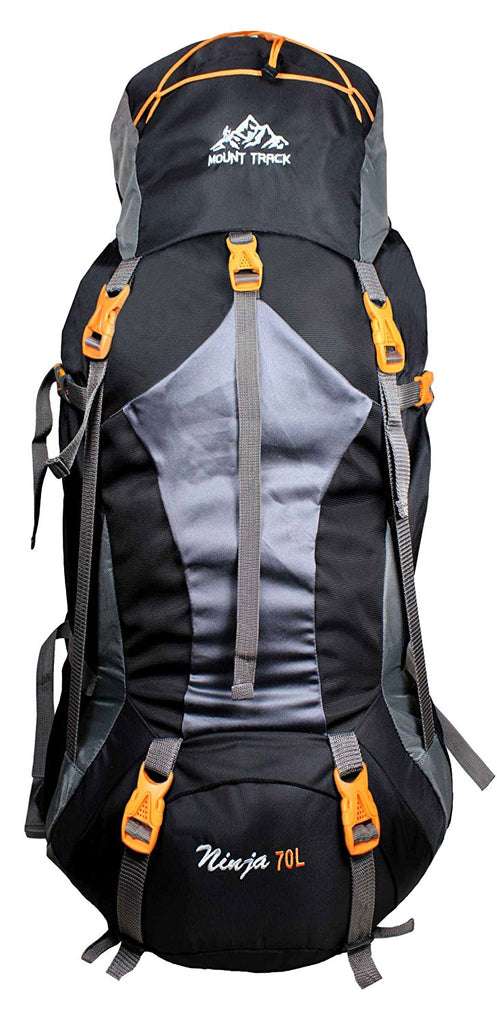 Mount Track 9104 Ninja Rucksack, Hiking Backpack 70 Ltrs with Laptop Sleeve