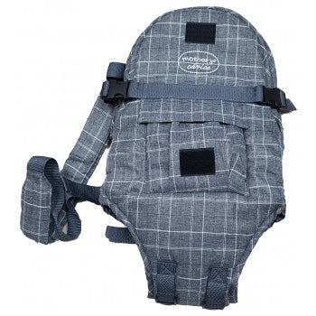 3 Way Elegant Baby Carrier - Grey