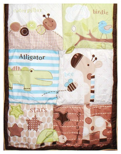 BABY QUILTS ALLIGATOR