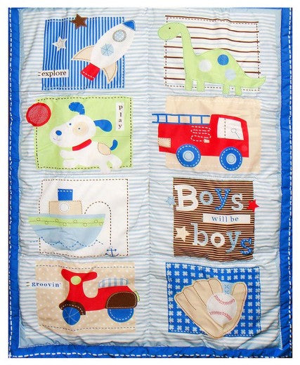 BABY QUILTS ROCKET