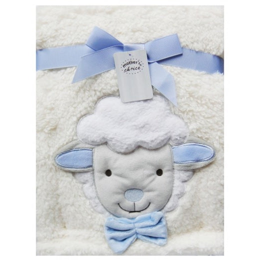 INFANTS FLEECE RECEIVER BLUE-SHEEP