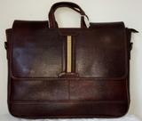 100% Genuine Buffalo Leather Slim Laptop bag