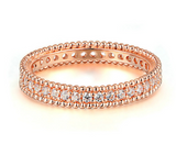 Rose Gold Plated Classic Ring