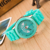 Ladies Silicon Dress Casual Watch