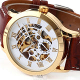 Men's Automatic Skeleton Mechanical Watches - 5 Styles