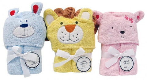 Baby  Hooded Towels with Creatures