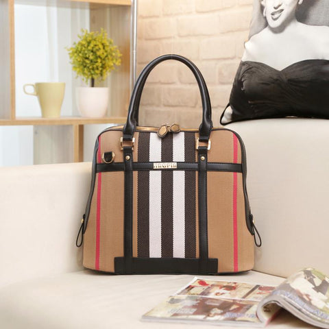 Ladies Cross Body Handbag - Black