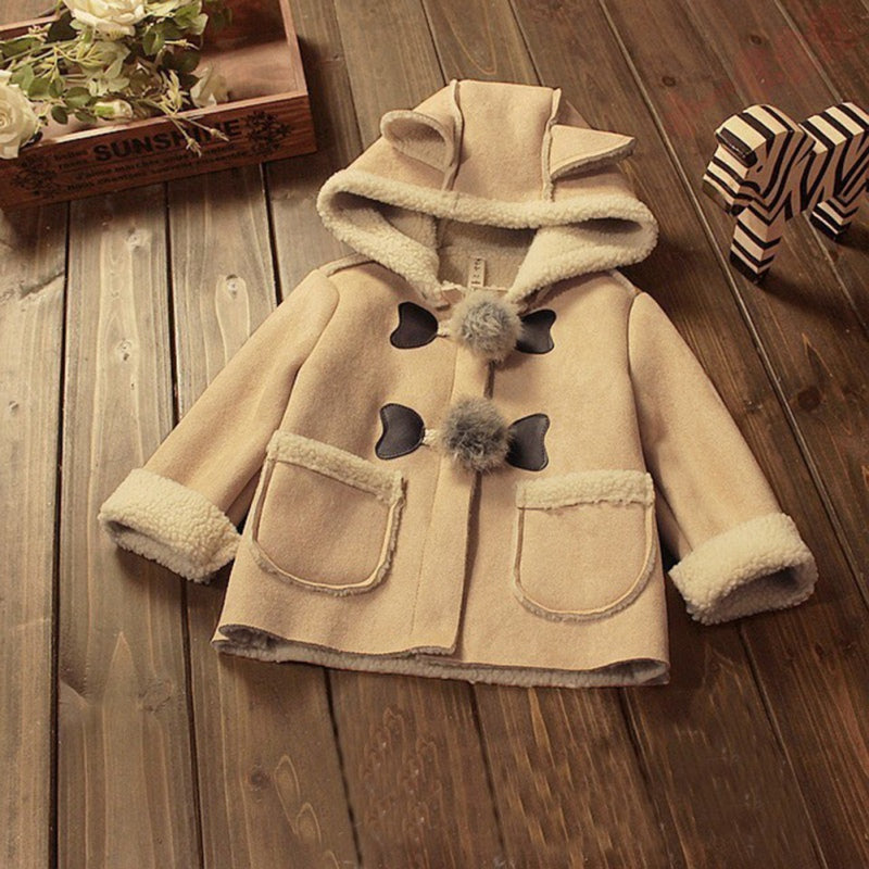Toddlers Winter Coat - Brown - 3 Years