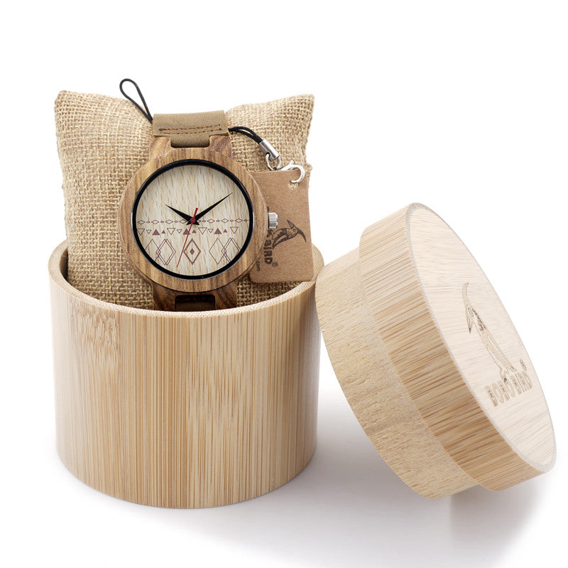 Men's Bamboo Handcrafted Watch