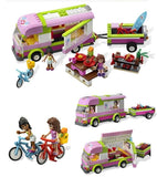 217 pcs Adventure Camper Building Block Set