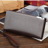 Men's Casual Wallet - coffee