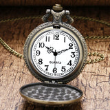 Bronze Truck Pocket Watch