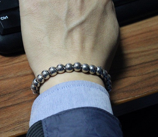 Men's Stainless Steel Biker Bracelet
