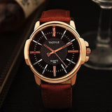 Men's Formal Wrist Watch - Rose Gold - 4 Colours