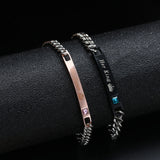Couples Bracelets - 2pc