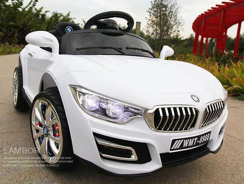 Kiddies 12V Ride ON Battery Powered BMW -  White