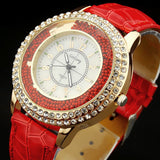 Ladies Casual Watch - Red