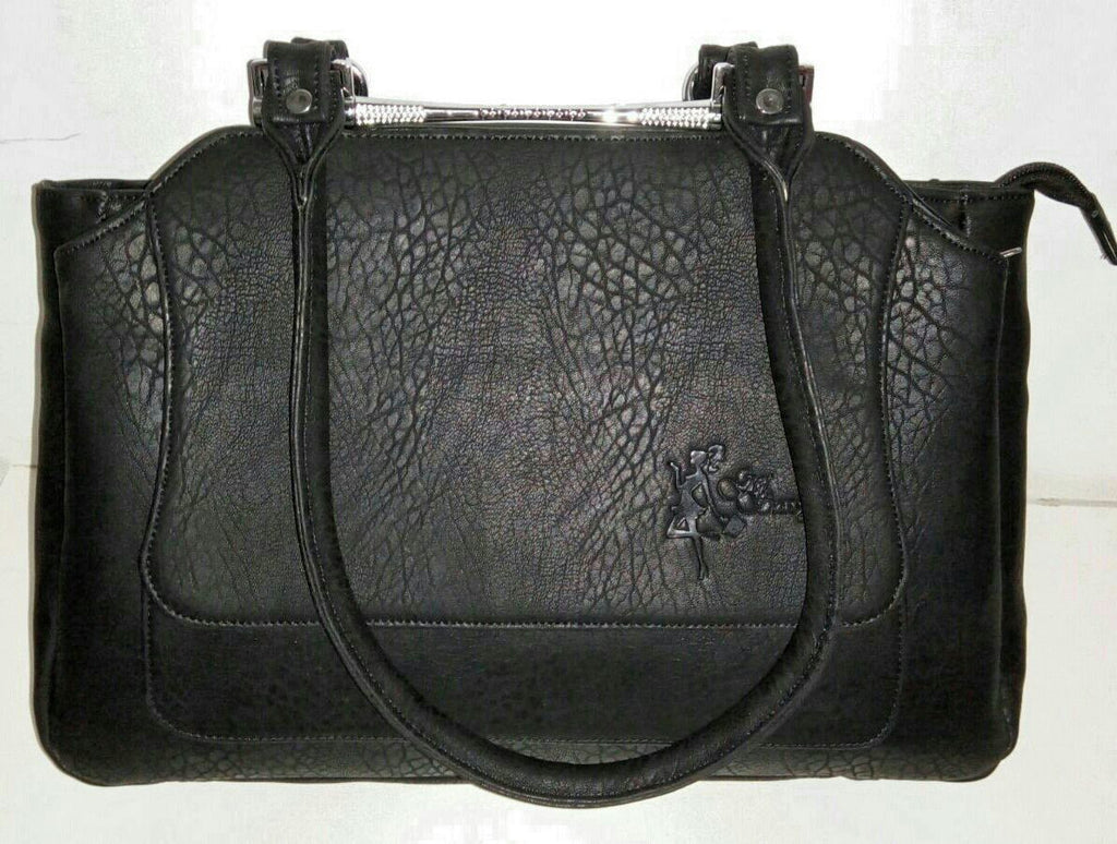 Elegant Casual Everyday Handbag - Black