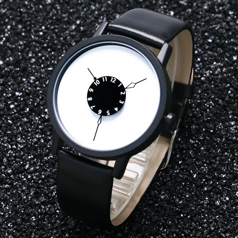 Ladies Dress Watch - Black & White