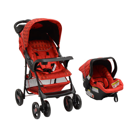 Chelino 2 in 1 Matrix Travel System - Red