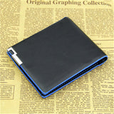 Men's Wallet - Bifold With Credit Card holder (Blue Lining)