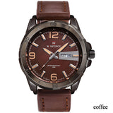 Men's Sports Casual Naviforce Watches - 4 Styles