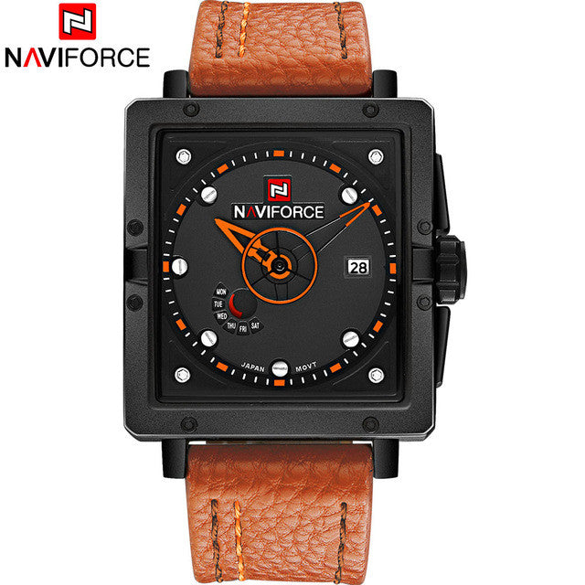 Men's Rectangle Watch - Naviforce