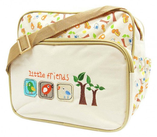 Nappy Day Pack - Little Friends Beige
