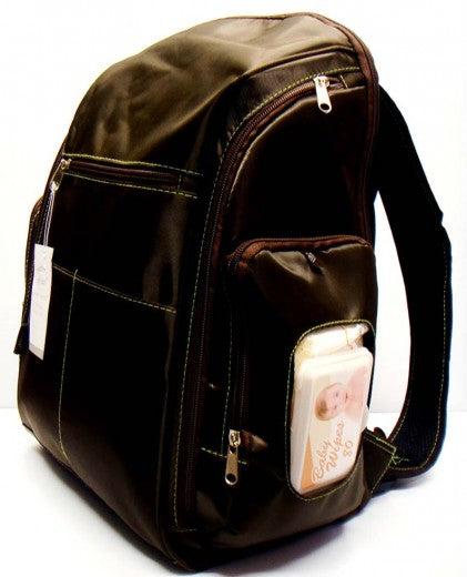 Mothers Choice Baby Diaper Backpack - Brown