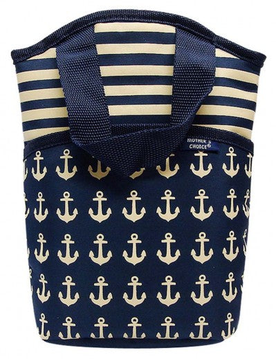ANCHOR BOTTLE WARMER-NAVY