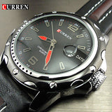 Men's Business Casual Curren Watches - 3 Styles