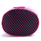 Travel Organiser Toiletry Cosmetic Bag - Bow