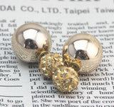 Party Earrings - Rhinestone Tip