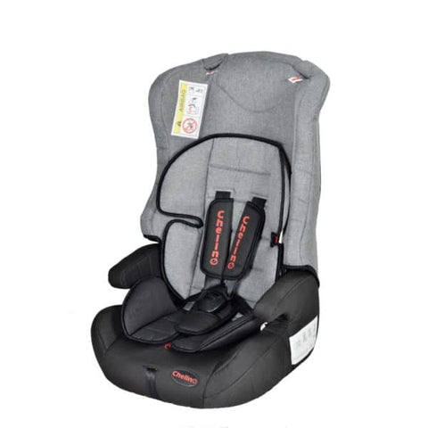 Chelino Revo Car Seat Grey & Black