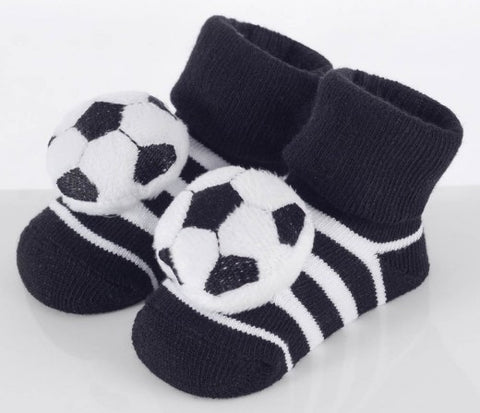 INFANT'S NOVELTY SOCKS 'SOCCER BALL'