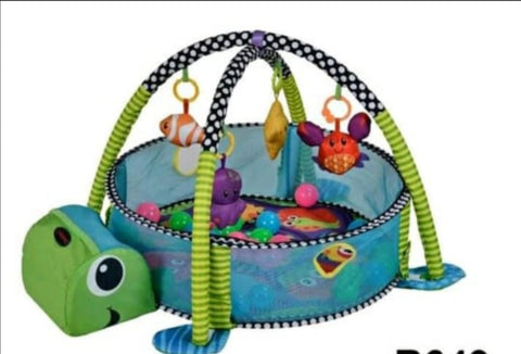 Baby Play Pen Green