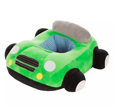 Copy of BABY SEAT SUPPORT SIT UP CHAIR SOFA PLUSH PILLOW - CAR - Green