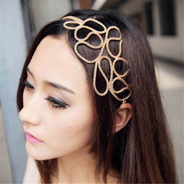 Braided Stretch Head Band