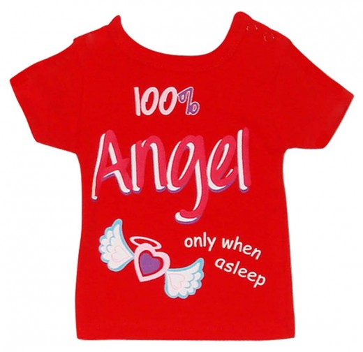 Infants Short Sleeve T-shirts - Red