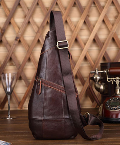 Genuine Leather Cross Body Messenger Shoulder Bag