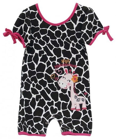 INFANTS ROMPER GIRAFFE