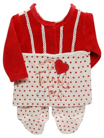 INFANTS VALOUR 2PC GROWER MUMMYS LITTLE TWINKLE TOES