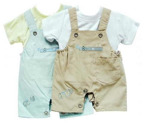 INFANTS DUNGAREE & T SHIRT MUSIC