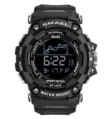 Smael Digital Analog Watch Model 1802 - Black